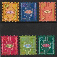 NVPH 1740-1745 - 1997 - Kerstzegels, Kersttelepatie - 1980-... (Beatrix)
