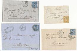 4 LETTRES A ETUDIER - 1849-1876: Période Classique