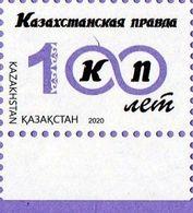 "Kazakhstan 2020. The Newspaper ""Kazakhstanskaya Pravda"". 100 Years. MNH** - Kazakhstan"