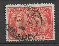 1897 USED Canada Mi 47 - 1851-1902 Reign Of Victoria