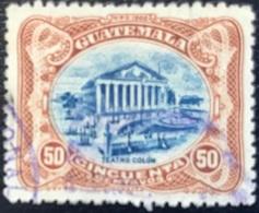 Guatemala - A1/14-15 - (°)used - 1902 - Teatro Colon - Guatemala