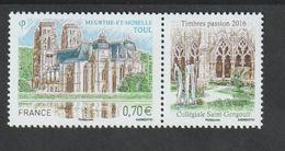 TIMBRE - 2016  -   N° 5086  - Série Touristique ,Toul  - Neuf Sans Charnière - France