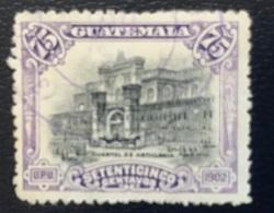 Guatemala - A1/14-15 - (°)used - 1902 - Kazerne - Guatemala
