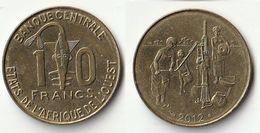 Pièce De 10 Francs CFA XOF 2012 Origine Côte D'Ivoire Afrique De L'Ouest - Ivory Coast