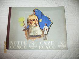 """Chocolat JACQUES - Album Chromos COMPLET """" Notre Congo / Onze Kongo """", Chromo (RMT) - Jacques"""