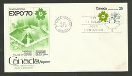 CANADA / LETTRE COVER FDC - 1970 – Osaka (Japan)
