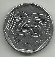 Brazil 25 Centavos 1994. KM#634 - Brazil