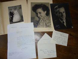 Petite Archive Photo Courrier De Gaulle / Au Prefet Des Pyrénées Orientales Et Délégué Co Prince D Andorre /perpignan - Collections