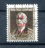 Albanien 5VII ABART Gest. 150EUR (H6848 - Occ. Allemande: Albanie