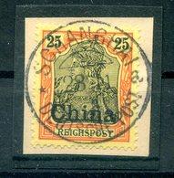 China 19 Herrlich Auf Gest. Luxusbriefstück (H7174 - Deutsche Post In China