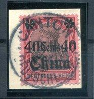 China 33 Herrlich Auf Gest. Luxusbriefstück (H7151 - Deutsche Post In China