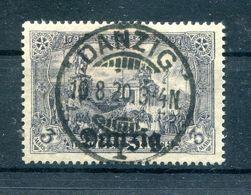 Danzig 13a Echt Gest. BPP 130EUR (H6809 - Danzig