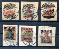 Danzig 26/31I Echt Gest. Luxusbriefstück 55EUR (H6655 - Danzig