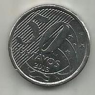 Brazil 50 Centavos 2013. KM#651a - Brazil