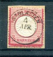 DR-Brustschild 9 Idealer BADENSTEMPEL St.Blasien Gest. Luxusbriefstück (H6287 - Deutschland