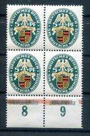 DR-Weimar 398 VIERERBLOCK ** POSTFRISCH 32EUR (H5713 - Nuovi