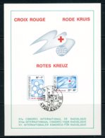 BE   Feuillet   2004 - 2005   ---   Croix-Rouge De Belgique  --  Obl. 1er Jour - Belgium