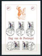 BE   Feuillet   2052   ---   Journée Du Timbre  --  Obl. 1er Jour - Belgium