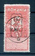 Rumänien Steuermarken VII Tadellos Gest. (H6789 - Besetzungen 1914-18