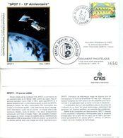 ESPACE CNES SPOT-1 13e ANNIVERSAIRE TOULOUSE - Europe
