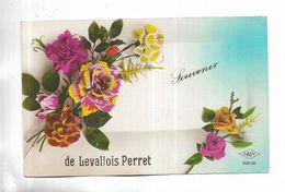 92 - Souvenir De LEVALLOIS-PERRET - Roses - Levallois Perret