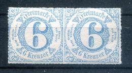 Taxis TYPENPAAR 43IA+IB LUXUS ** POSTFRISCH (77528 - Thurn Und Taxis