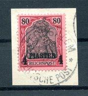 Türkei 19 Herrlich Auf Gest. Luxusbriefstück (H7202 - Deutsche Post In Der Türkei