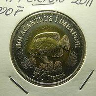 Ile De Clipperton 500 Francs 2011 - Monnaies