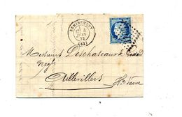 Lettre Cachet Losanges Remiremont Sur Ceres + 978 + Aillevillers - Poststempel (Briefe)