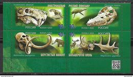 Russia 2020 Paleontological Set MNH - Unused Stamps