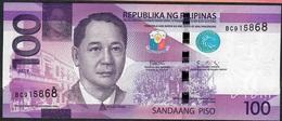 PHILIPPINES P222g) 100 PISO 2019 #BC Signature 16 (Dutertre/Diokno) UNC. - Filipinas