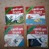 4 Mini Livres Publicitaires STENVAL 1976 Pour Jouer - Bücher, Zeitschriften, Comics