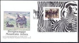 NAMIBIA - FAUNA - ZEBRAS - MI.NO.BL 13 - CV = 7 € - Namibie (1990- ...)