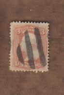 USA  (Y&T) 1861- N°19  *Franklin*   * 3c * Obl - 1861-65 Confederate States