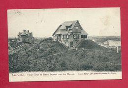 C.P. De Panne =  Villa  STAR Et BEAU  SEJOUR Sur Les Dunes - De Panne