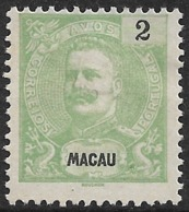 Macau Macao – 1898 King Carlos 2 Avos - Macao