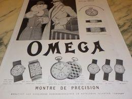 ANCIENNE PUBLICITE MONTRE OMEGA MONTRE DE PRECISION  1928 - Altri