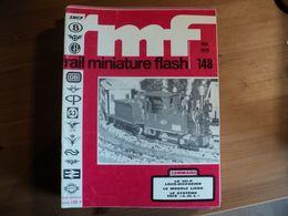 RAIL MINIATURE FLASH N°148 DE MAI 1975 LA 141 P LOCO DIFFUSION / LE SYSTEME TRIX EMS / PIKO / RIVAROSSI / JOUEF / FLEIS - Trains