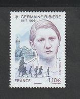 TIMBRE - 2017  -   N° 5129  - Personnalité , Germaine Ribière  - Neuf Sans Charnière - Frankreich