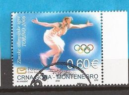 2006  112  SPORT TORINO EISKUNSTLAUF  OLYMPIADE  MONTENEGRO CRNA GORA    USED - Figure Skating
