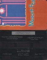288/ Oman; P170. Muscat Festival 2000 - 3, 490MNA - Oman