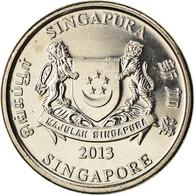 Monnaie, Singapour, 20 Cents, 2013, SPL, Cupro-nickel, KM:New - Singapore