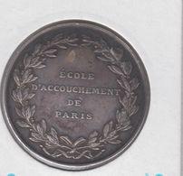 """FRANCE - Medailles """"ecole D'accouchement De Paris"""" 1895/1896 SUP - Professionnels / De Société"""