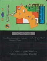 291/ Oman; P174. Oman Enviroment Day, 50OMNA - Oman