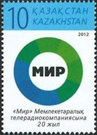 KAZAKHSTAN 20ans Radio/TV MIR 1v 2012 Neuf ** MNH - Kasachstan