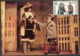 Belgique 1981 Europa Marionettes CM - Maximum Cards