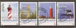 Pays-Bas Netherlands 201- Phares Lighthouses Obl - Usados