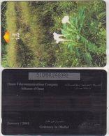 296/ Oman; P185. Greenery In Dhofar, 51OMNU - Oman