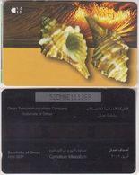 298/ Oman; P190. Cymatium Trilineatum, 52OMNE - Oman