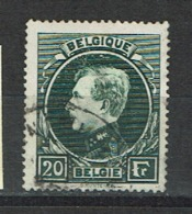 20F Koning Albert I Uit 1929 (OBP 290 ) - 1929-1941 Big Montenez